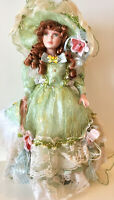 Victorian Porcelain Doll-Limited Edition Collectible Doll W/Minor Flaws  New