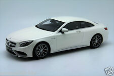 1/18 GT Spirit Mercedes S63 Coupe AMG Dealer Edition White Free Shipping/ MR BBR