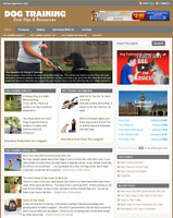 DOG TRAINING - Responsive Niche Website Business For Sale - Free Installation