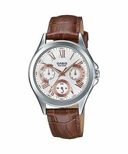Genuine Leather Band Women's 50 m (5 ATM) Wristwatches