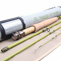 Ultra-lite Fly Rod for Stream/Creek,IM8 Carbon Blank,Cordura Tube,in 1/2/3weight