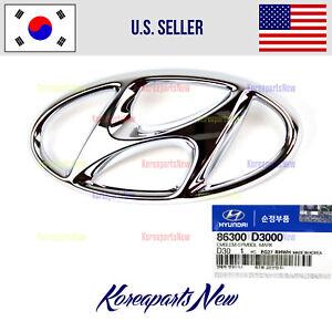 Front Grille Emblem Front H Logo 86300D3000 ⭐OEM⭐ Hyundai Tucson 2016-2020