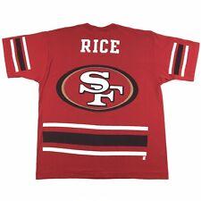 Vintage Pro Player NFL San Francisco 49ers Jerry Rice Single Stitch T-Shirt