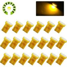 20X Yellow 4300K T10 192 8-SMD LED Bulbs Instrument Speedometer Trunk Dome Light