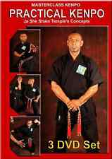 MASTERCLASS PRACTICAL KENPO -VOLUMES 1, 2 AND 3 Ja She Shain Temple's Concepts