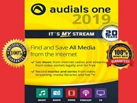 Audials One 2020 Platinum | LIFETIME LICENSE | FULL VERSION ⭐| 🔥GENUINE 100%🔥