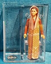 Vintage Star Wars Leia Bespin Gown Rare Textured Cape Variant AFA 80+ NM 1980 HK