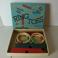 Vintage Parker Brothers Game Ring Toss - Original 1960s - Board game