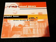 Container Sound Library Vol. 1 / Beats, Breaks & Loops / Sampling-CD 1995