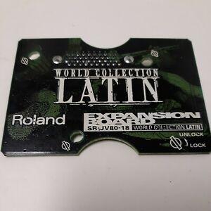 Roland SR-JV80-18 Latin Expansion Board