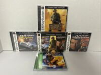 NEAR MINT Collectors Edition 007 Racing Tomorrow Dies Medal Honor PS1 Complete