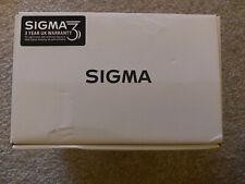 Sigma 50mm F1.4 DG HSM 'A' Lens - Canon Fit