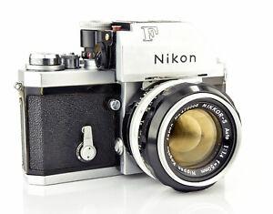 Nikon F Photomic 35mm SLR Film Camera with f1.4 Nikkor Lens