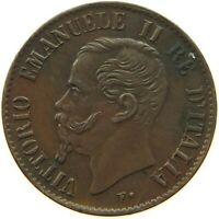 ITALY 1 CENTESIMO 1867 M DOUBLE STRUCK #c41 1675