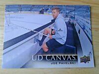 Joe Pavelski Upper Deck Canvas 2018-2019 Upper Deck Series 1 Hockey Sharks Stars