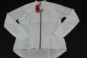 Trek / Bontrager Woman's Vella Convertible Windshell Jacket White Size L