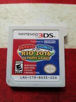 Mario & Sonic at the Rio 2016 Olympic Games (Nintendo 3DS, 2016) Disc Only
