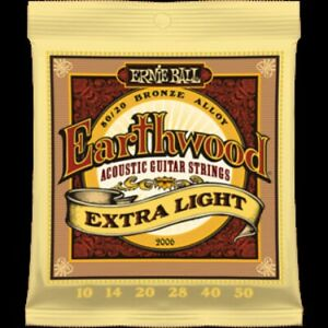 Ernie Ball Earthwood Extra Lights 10 - 50 Acoustic Guitar Strings SPECIAL OFFER