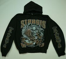 Rare Vintage Sturgis 72nd Annual Motorcycle Rally 2012 Hoodie Sweatshirt Black L