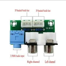 Amplifier Board Input Interface Board Lotus Seat+3.5MM Audio XH3P Socket