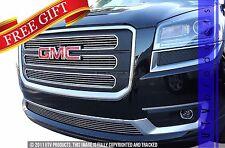 GTG 2013 - 2016 GMC Acadia SLT 4PC Polished Overlay Billet Grille Grill Kit