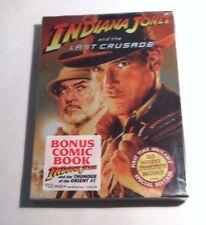 Indiana Jones and the Last Crusade Special Edition(Dvd, Bonus Comic Book) New!