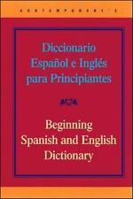 Contemporary's Diccionario Espa~nol E Ingles Para Principiantes =: