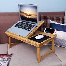 Gebrauchte Laptoptisch Betttisch NotebookTisch Klapptisch Bambus R181078B+LLD006