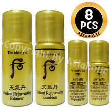 The history of Whoo Hwa hyun Balancer (4pcs) + Lotion (4pcs) 8pcs Hwahyun New