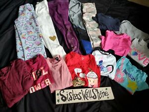 Girl's  Lot Size 10 10/12 Justice under Armor +++ pants shirts  15pcs #53