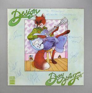 """Design - Day of The Fox - SIGNED - NEAR MINT UK 12"""" Vinyl LP - SLRZ 1037"""
