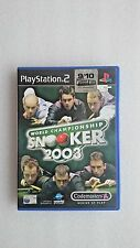 World Championship Snooker 2003  PS2