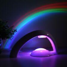 AU LED Rainbow Projector Rainbow Color Night Lamp Light Gift Kids Toy Home Room