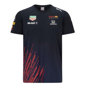 New! 2021 Red Bull Racing F1 Mens Official Team T Shirt Tee Verstappen Perez