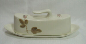 Red Wing USA RED WING ROSE Futura Shape Circa 1958 Butter Dish with Lid