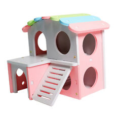 Wooden House for Cage Rodent Small Animal Hamster Rat Mice Ferret Gerbil Toy