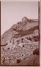 GRECE c. 1900 - Citadelle d'Acra Corinthe  - aa835