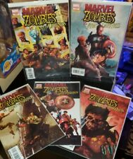 Marvel Zombies set lot 1 2 3 4 5 vs Army of Darkness NM  Marvel Dynamite rare 🔥