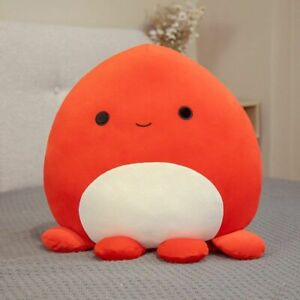 New Squishmallow The Octopus Plush Toy Doll Soft Kids Pillow Gift 25/45/60/80cm