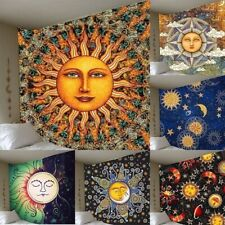 Sun and Moon Mandala Tapestry Wall Hanging Psychedelic Tapestries Bedroom Decor
