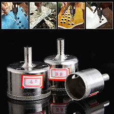 3Pcs 28/38/45mm Diamond Coated Core Saw Hole Drill Set For Glass Marble Tiles