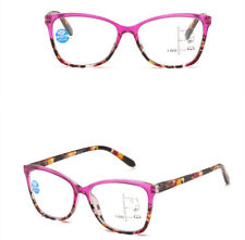 Fashion Flowers Frame Multifocal Varifocal Progressive Reading Glasses Readers