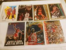 MICHAEL JORDAN (7) CARD LOT.  GREAT 90'S PARALLELS & INSERTS.  FREE SHIPPING!!!
