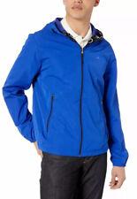 New Calvin Klein Men's Spring Trench Coat Royal Blue Repel Jacket Size L