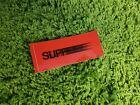 Supreme S/S 2016 Motion Sticker Box Logo Red