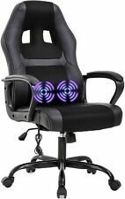 New ListingPc Gaming Chair Massage Office Chair Ergonomic Desk Chair Adjustable Pu Leather