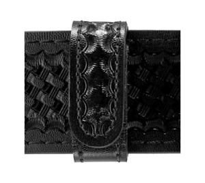 Safariland 62-4-4HS Black Basketweave Belt Keeper Hidden Snaps - 4 Pack
