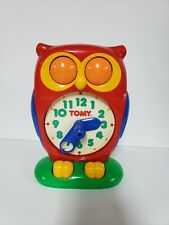 Tomy 1990 Vintage Educational Time Teaching Toy Clock