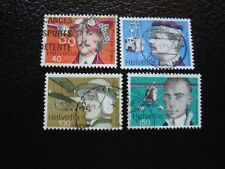 SUISSE - timbre yvert et tellier n° 1017 a 1020 obl (A2) stamp switzerland (I)