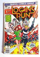 1977 Logan's Run Marvel Comic Book #1- First Issue- UNREAD-  FREE S&H (M5035)